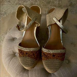 Coach crochet shoes